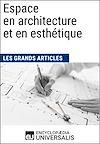Télécharger le livre :  Espace en architecture et en esthétique