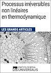 Télécharger le livre :  Processus irréversibles non linéaires en thermodynamique