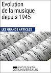 Télécharger le livre :  Evolution de la musique depuis 1945