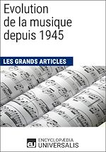 Download this eBook Evolution de la musique depuis 1945
