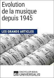 Téléchargez le livre :  Evolution de la musique depuis 1945