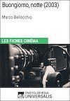 Télécharger le livre : Buongiorno, notte de Marco Bellocchio