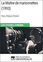 Download this eBook Le Maître de marionnettes de Hou Hsiao-Hsien
