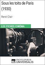 Download this eBook Sous les toits de Paris de René Clair