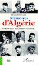 Télécharger le livre : Mémoires d'Algérie