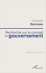 Téléchargez le livre :  Recherche sur le concept de gouvernement