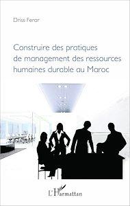 Téléchargez le livre :  Construire des pratiques de management des ressources humaines durable au Maroc