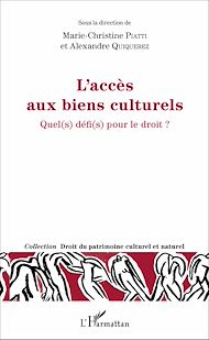 Téléchargez le livre :  L'accès aux biens culturels