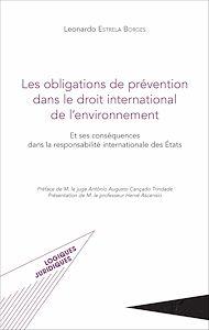 Téléchargez le livre :  Les obligations de prévention dans le droit international de l'environnement