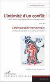 Télécharger le livre :  L'intimité d'un conflit : Récit ethno-biographique du harcèlement moral