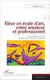 Télécharger le livre :  Élève en école d'art, entre amateur et professionnel