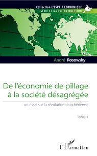 Téléchargez le livre :  De l'économie de pillage à la société désagrégée (Tome 1)