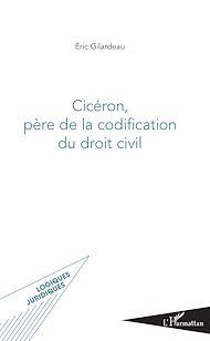 Téléchargez le livre :  Cicéron, père de la codification du droit civil