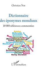 Téléchargez le livre :  Dictionnaire des éponymes mondiaux