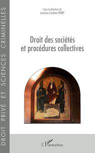 Téléchargez le livre :  Droit des sociétés et procédures collectives
