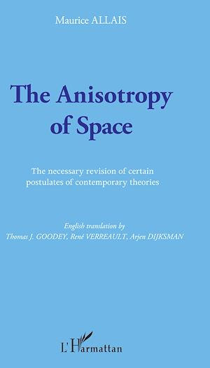 Téléchargez le livre :  The Anisotropy of Space