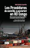 Télécharger le livre :  Les Procédures de contrôle <em>a posteriori</em> en RD Congo