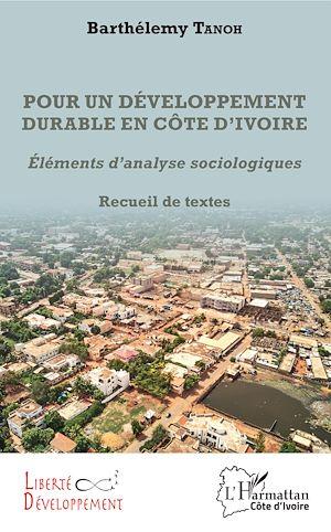 Téléchargez le livre :  Pour un développement durable en Côte d'Ivoire