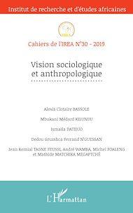 Téléchargez le livre :  Vision sociologique et anthropologique