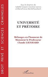 Téléchargez le livre :  Université et prétoire