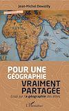 Télécharger le livre :  Pour une géographie vraiment partagée
