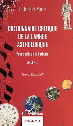 Téléchargez le livre :  Dictionnaire critique de la langue astrologique