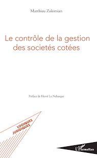 Téléchargez le livre :  Le contrôle de la gestion des sociétés cotées
