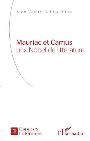 Téléchargez le livre :  Mauriac et Camus