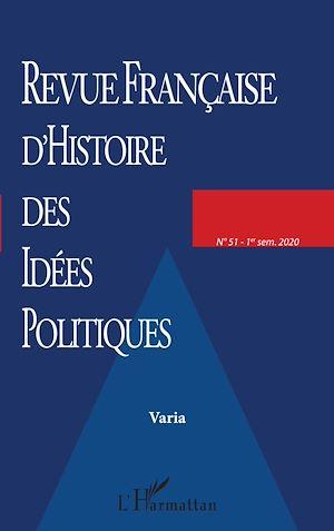 Téléchargez le livre :  Revue Française d'Histoire des Idées Politiques