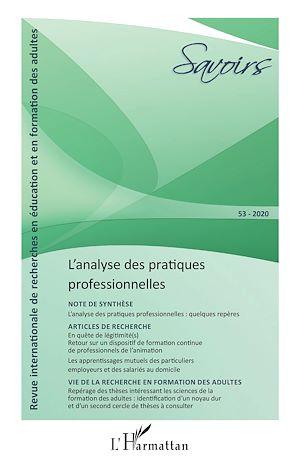Téléchargez le livre :  L'analyse des pratiques professionnelles