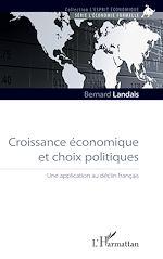 Téléchargez le livre :  Croissance économique et choix politiques