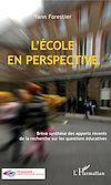 Télécharger le livre :  L'École en perspective