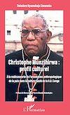 Télécharger le livre :  Christophe Munzihirwa : profil culturel