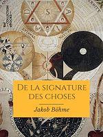 Téléchargez le livre :  De la signature des choses