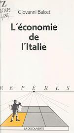 Download this eBook L'économie de l'Italie