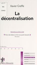 Téléchargez le livre :  La décentralisation