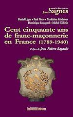 Download this eBook Cent cinquante ans de franc-maçonnerie en France