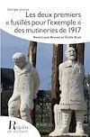 """Télécharger le livre :  Les deux premiers """"fusillés pour l'exemple"""" des mutineries de 1918"""