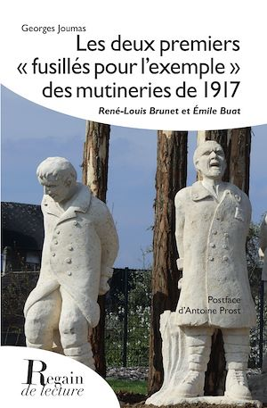 """Téléchargez le livre :  Les deux premiers """"fusillés pour l'exemple"""" des mutineries de 1918"""