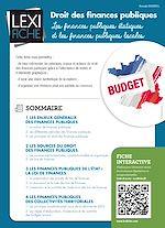Download this eBook Droit des finances publiques