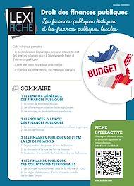 Téléchargez le livre :  Droit des finances publiques