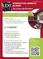 Download this eBook Introduction générale au droit (3ème édition)