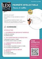 Download this eBook Propriété intellectuelle - Dessins et modèles