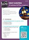 Télécharger le livre :  Droit européen - Le contentieux de l'Union européenne