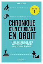 Download this eBook Chronique d'un étudiant en droit
