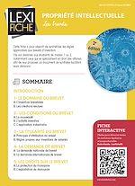 Download this eBook Propriété intellectuelle - Les brevets