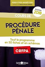 Download this eBook Cours de procédure pénale