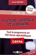 Téléchargez le livre :  Cours de culture juridique