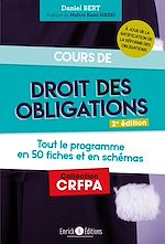 Download this eBook Cours de droit des obligations - 2ème édition
