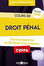 Download this eBook Cours de droit pénal